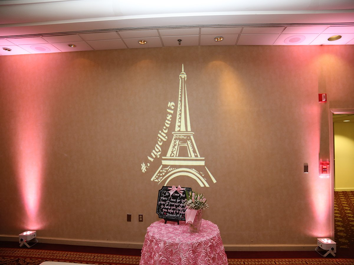 Quinceanera Monogram from Y-it Entertainment mobile dj services, Photo Booth, and Lighting in Ventura county