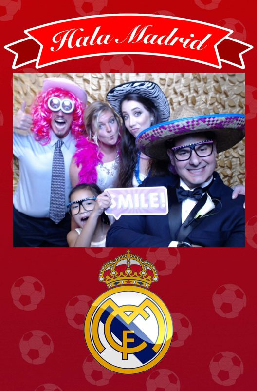 Y-it Entertainment Go Madrid design for Photo Booth