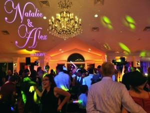 Wedding Monogram from Y-it Entertainment Mobile DJ Services, Photo Booth, and lighting in Ventura county