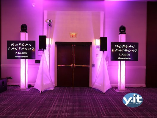 Wedding LCD TV package Y-it Entertainment