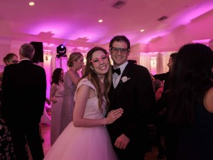 Cherilyn and Jason's wedding reception at Breaux Vineyards with Y-it Entertainment