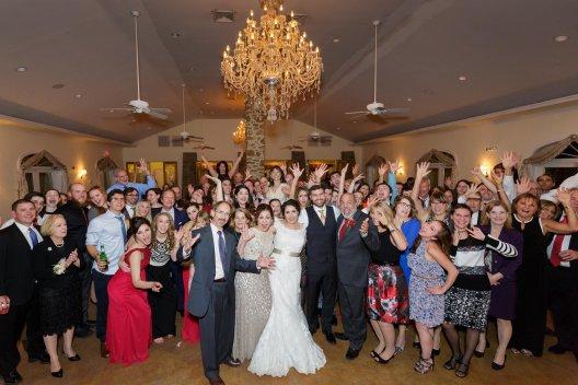Wedding Group shot at Briar Patch