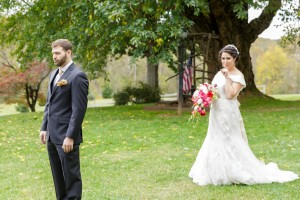 Aviva and Jason at Briar Patch for Wedding First Look