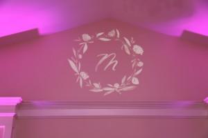 Wedding Monogram at Breaux Vineyards by Y-it Entertainment