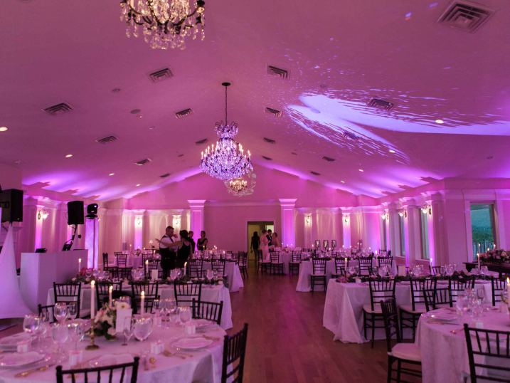 Wedding and Quinceanera lighting