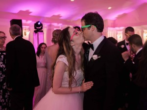 Big Kiss while celebrating at Breaux Vineyards with Y-it Entertainment