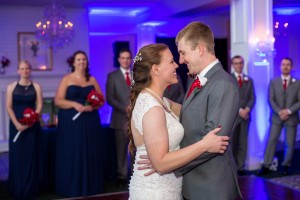 Laurel and Andrew first dance at Rose hill manor