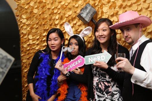 Wedding Photo Booth fun at Piedmont club
