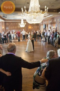 Julia and Luke's Wedding last dance