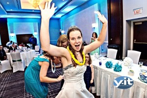 Dance time at Laura's wedding Reception at Hyatt Regency
