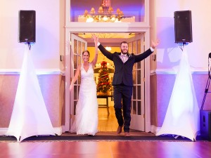 Y-it Entertainment Bride and Groom introduction 2016 Peidmont Wedding Mobile DJ