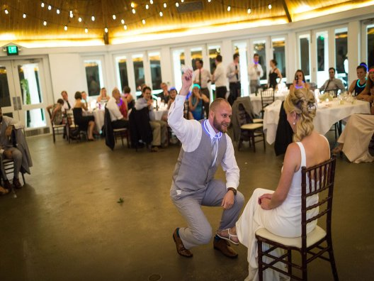Airlie Center Garter removal with Carly and Tyler 2016 www.yitentertainment.com
