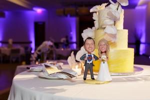 Wedding Cake with Super Heros! www.YitEntertainment.com