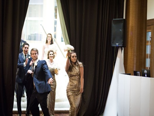 Bridal Party introductions at the Westin for Keriann and Juan Carlos www.Yitentertainment.com