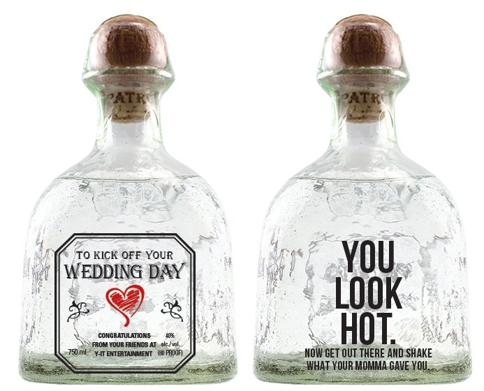 Drink To These Personalized Wedding Favors Or Special Gifts Y It