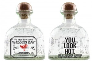 Patron Personalized wedding bottle by www.YitEntertainment.com