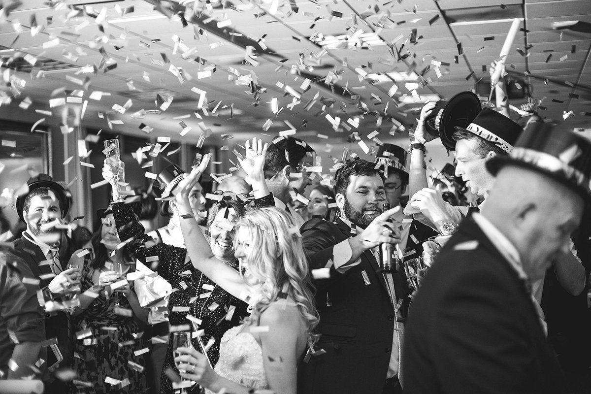 Katie and Justin Wedding Confetti 2017 3 www.YitEntertainment.com
