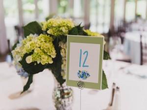 Jamie & Greg's Wedding Reception Table Decor