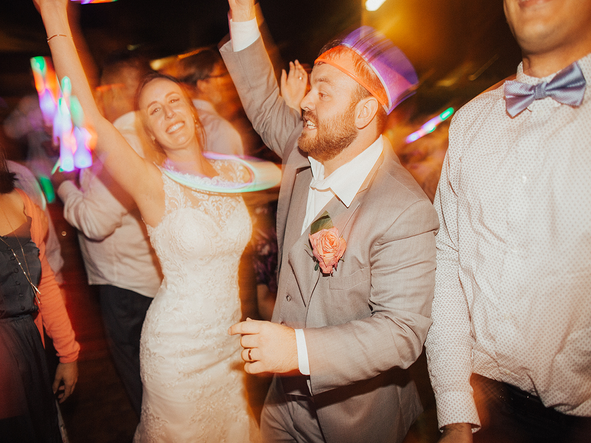 Brandon & Christy Wedding Dance time