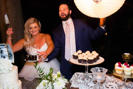 Jessica And Davids Wedding Cake Cutting Sharing Is Caring