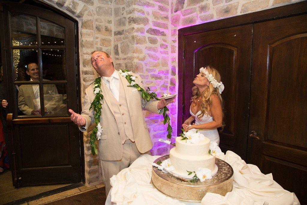 Karen and Chris's Wedding Cake Cutting at Westlake Village Inn 2017 www.YitEntertainment.com Mobile DJ and Photo Booth