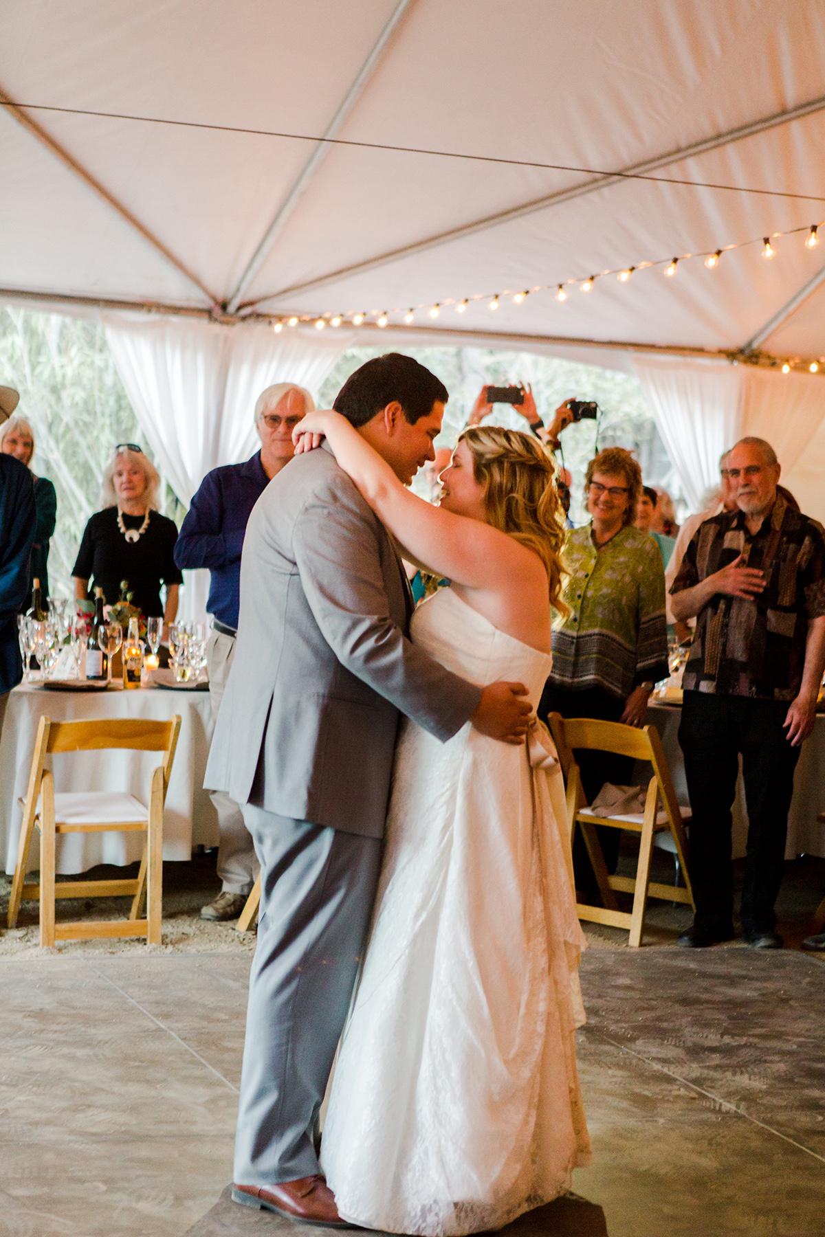 Doug & Katharine's Wedding First Dance Ojai, CA 2017