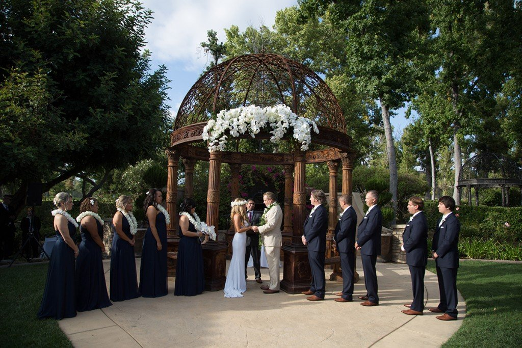 Karen and Chris's Wedding Ceremony at Westlake Village Inn 2017 www.YitEntertainment.com Mobile DJ