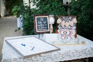 Jessica and David's Wedding Decor at McCormick Ranch with Y-it Entertainment