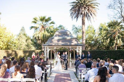 Catherine and Ben's Wedding Ceremony Camarillo Ranch House www.Yitentertainment.com Wedding Mobile DJ, Photo Booth, Lighting Ventura County