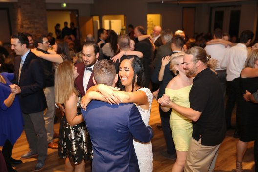 Nicole and Ollie Wedding North Ranch center dance 2017