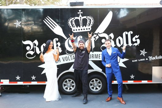 Rock Chef Rolls Wedding Food Truck 2017 North Ranch Center, Thousand Oaks, CA