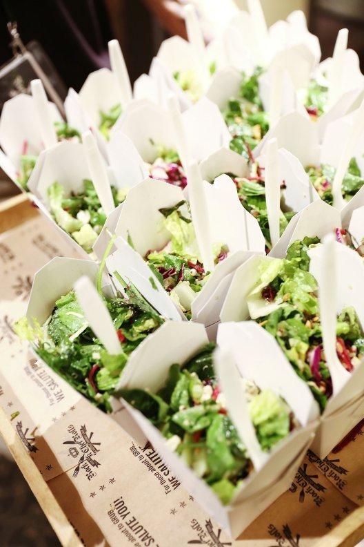 Wedding Food Truck Salad 2017