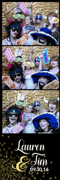 Wedding Photo Booth Lauren and Tim 2016