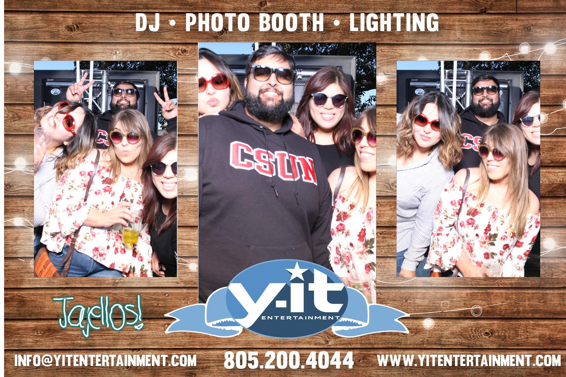 Camarillo Ranch Wedding Showcase 2018 Y-it Entertainment Mirror booth #2