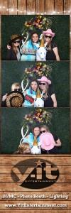 Camarillo Ranch Wedding Bridal Show 2018 Wedding Photo Booth #2 www.Yitentertainment.com