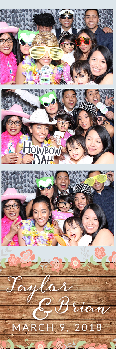 aylor and Brian's Wedding Photo Booth Saticoy Country Club 2018