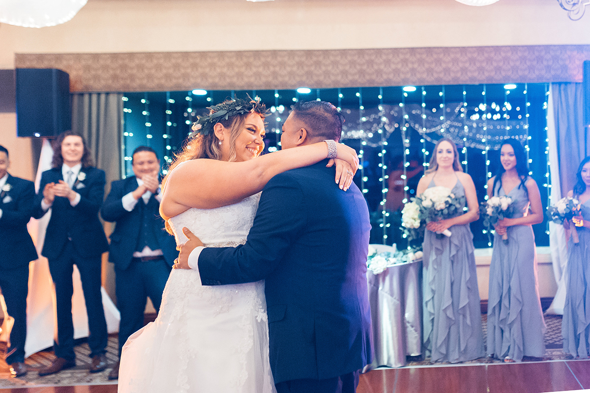 Taylor and Brian's wedding first dance Saticoy Country club 2018. www.YitEntertainment.com