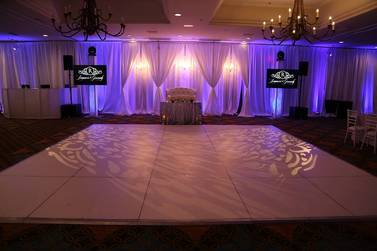 Y-it Entertainment Decor Lighting for wedding in California