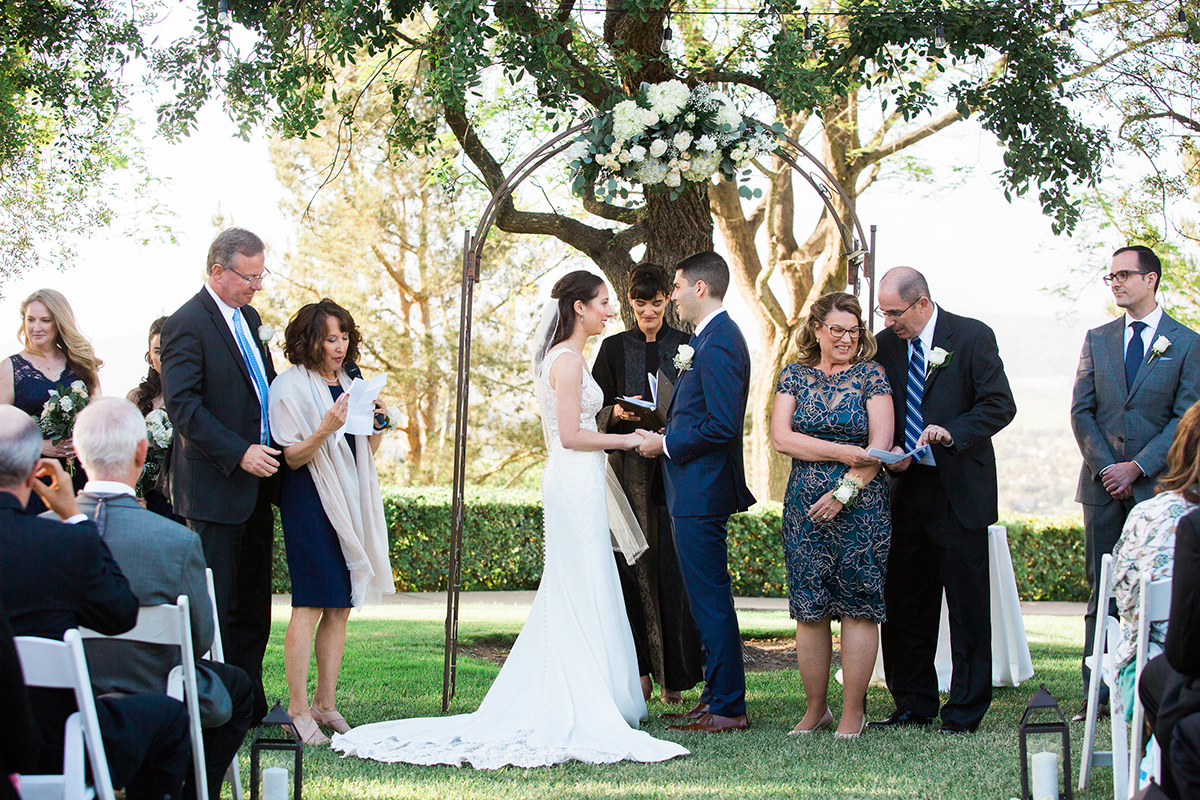 Spanish Hills Wedding Ceremony 2018
