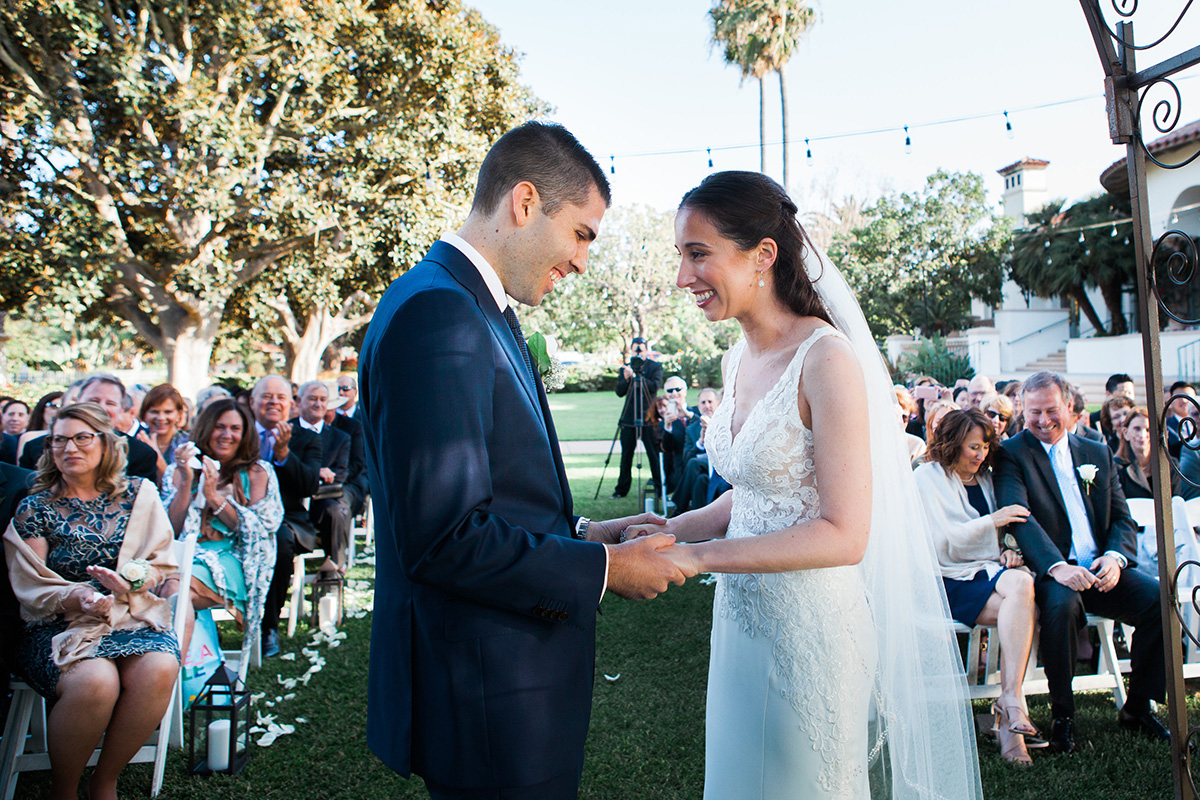 Wedding Ceremony at Spanish Hill's Golf and Country Club Y-it Entertainment with Amanda and Evan