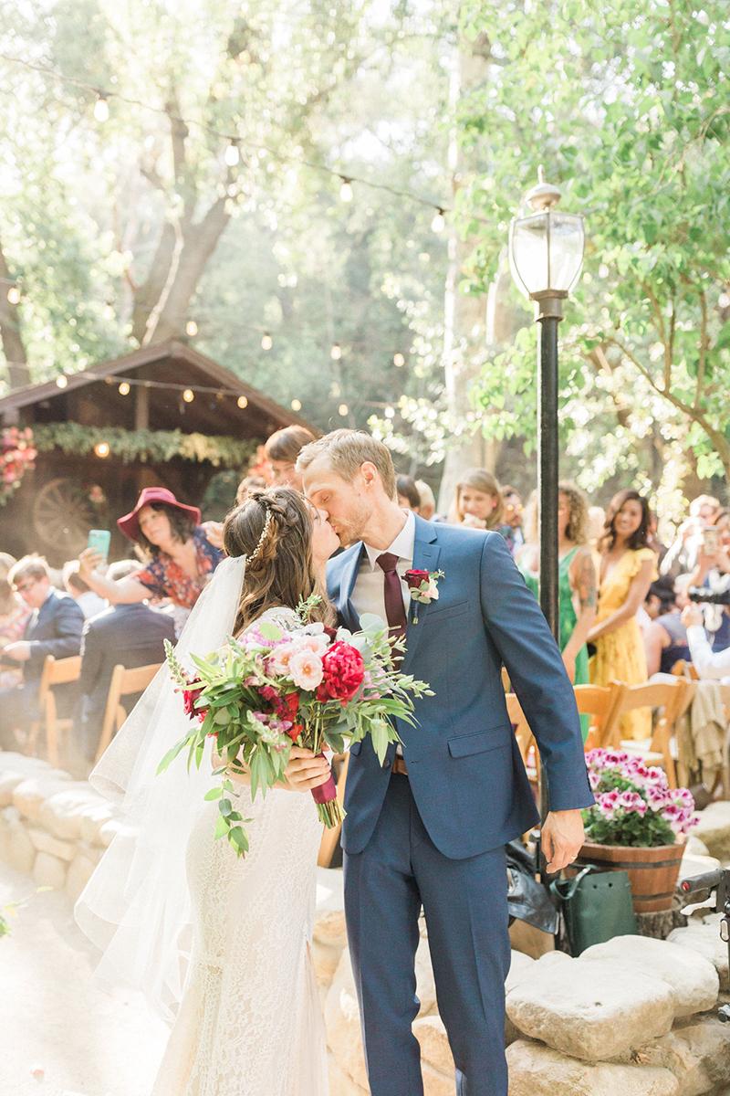 Elena and John Wedding Ceremony Santa Barbara, CA