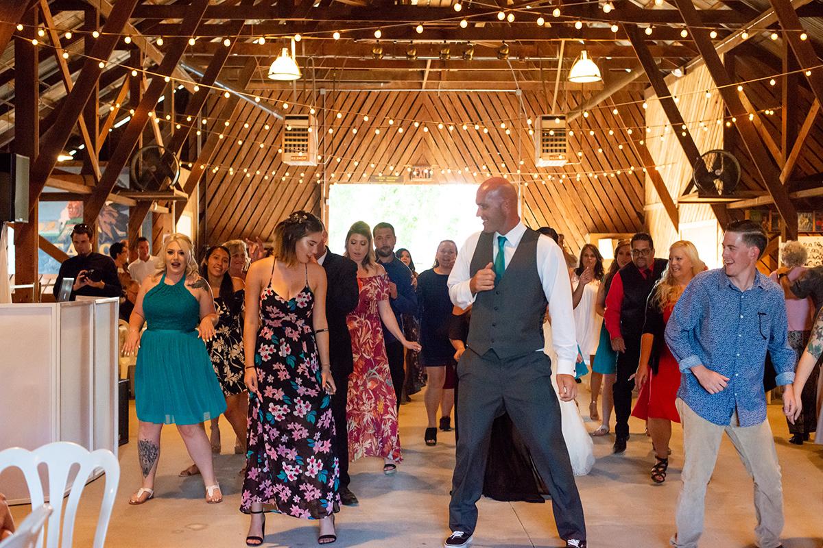 Kelly & Robbie wedding dance time 2018