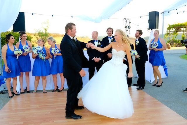 Moorpark Wedding Kristi and Kevin First Dance