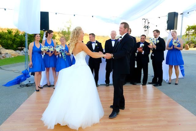 Wedding First Dance Moorpark Wedding DJ