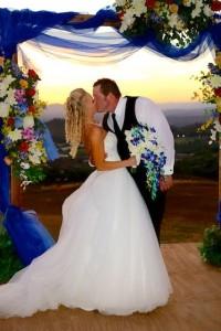 Moorpark Wedding Sunset Photo