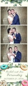 Rachel and Jon Bella VistaWedding Photo Booth Strip