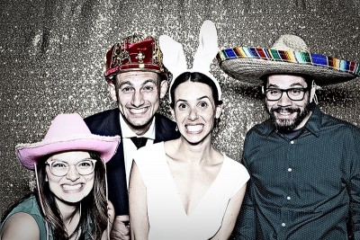 Rachel and Jon Bella Vista Grove wedding photo booth