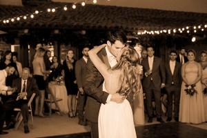 Amanda and Max's wedding Santa Barbara, CA first dance