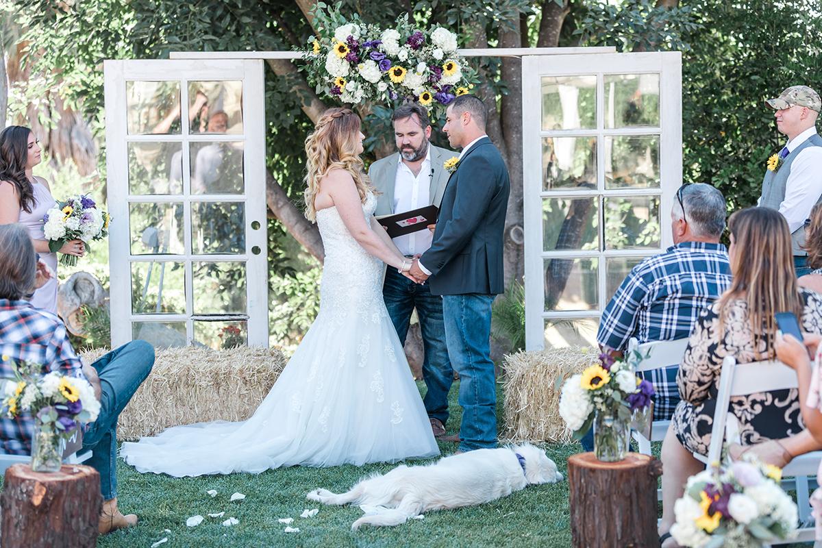 Jamie and Donnie Wedding Ceremony