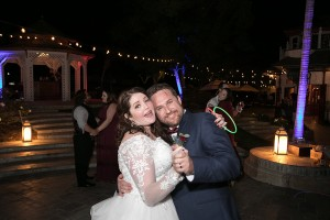 Kelly and Brian dancing Newhall Mansion Wedding 2018